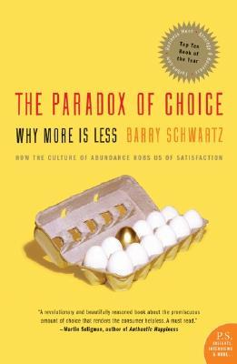 Paradox of Choice Book Cover