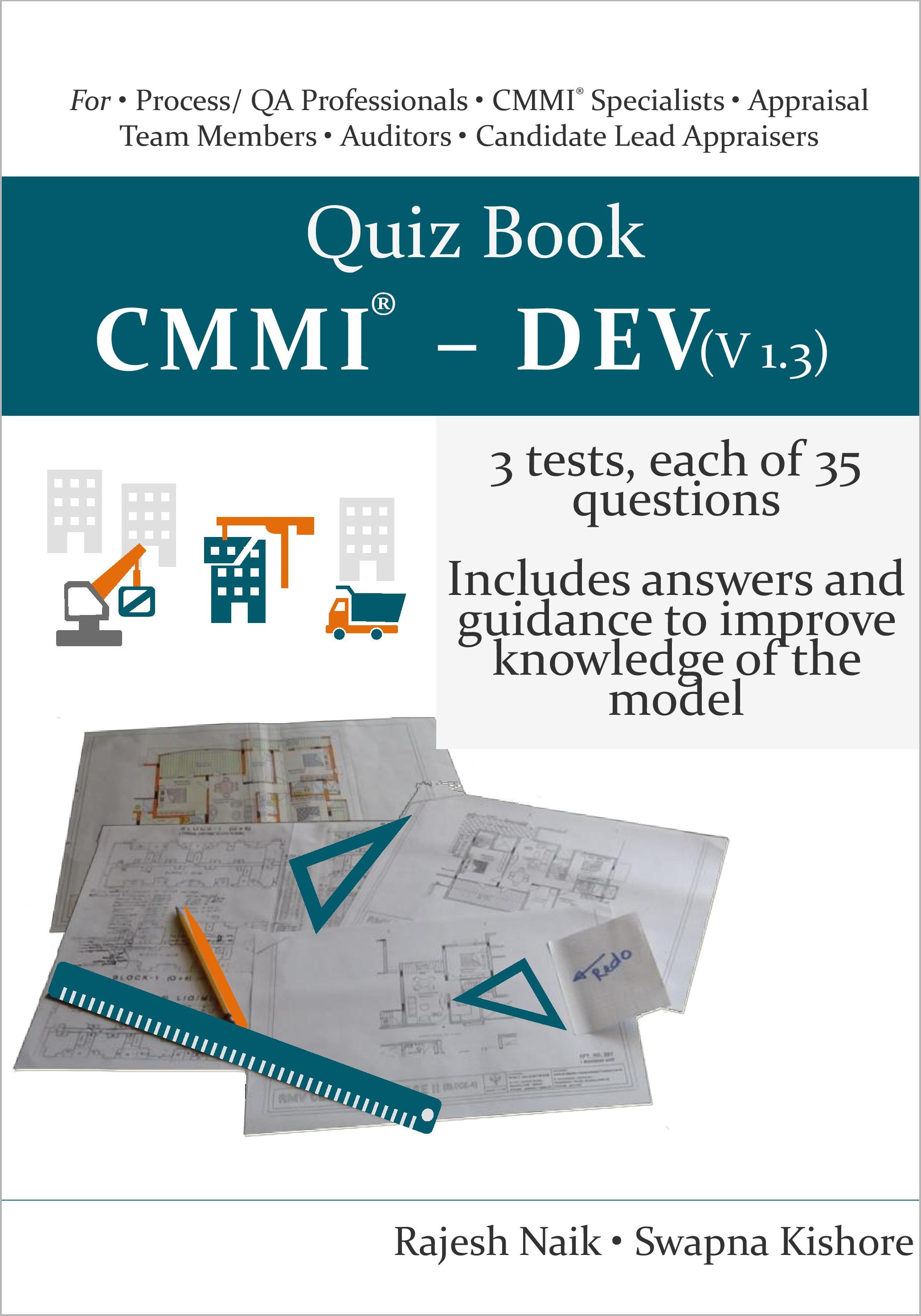 Quiz Book: CMMI® - DEV (v1.3) Book Cover