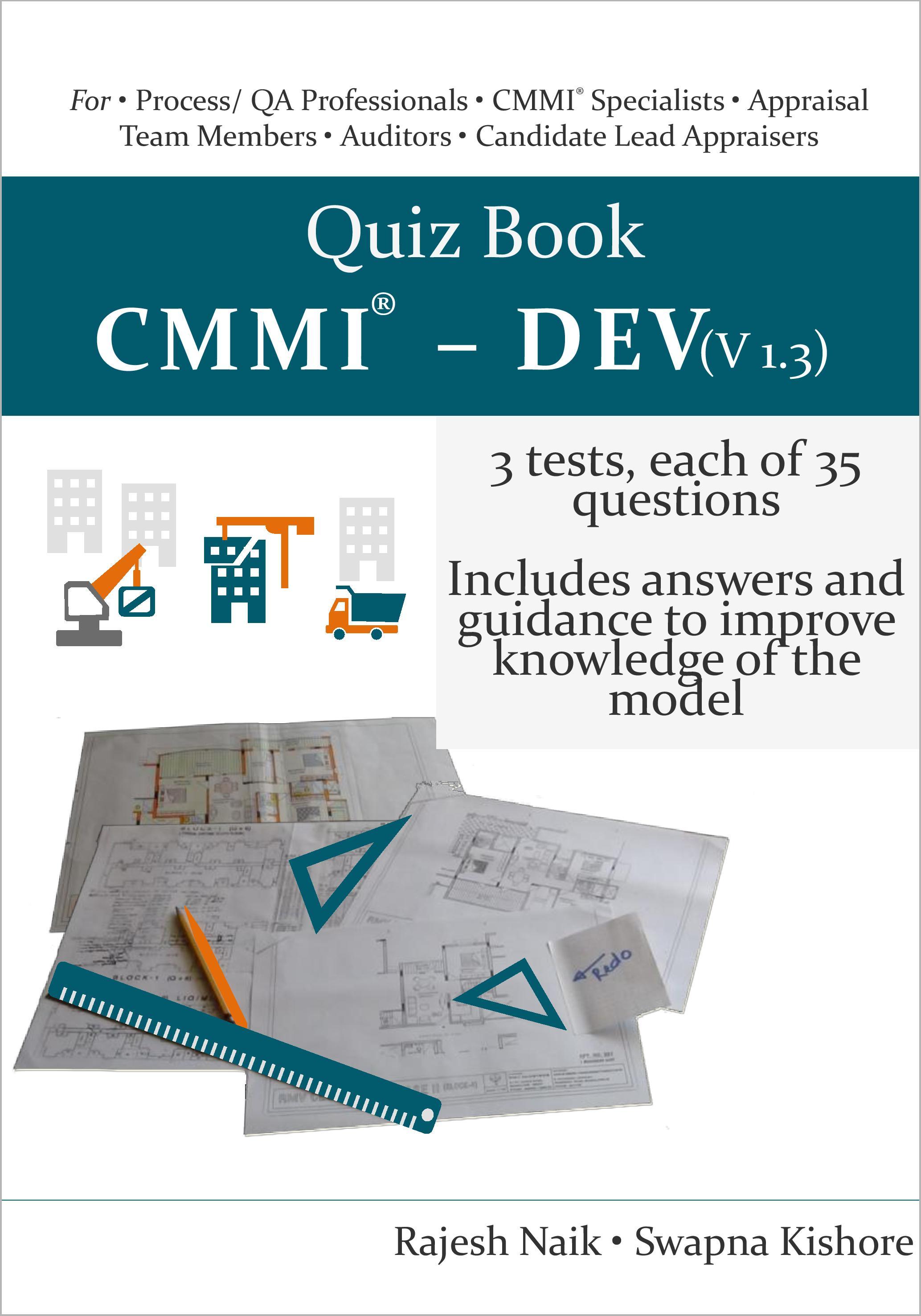 Quiz Book: CMMI® - DEV (v1.3) Book Cover
