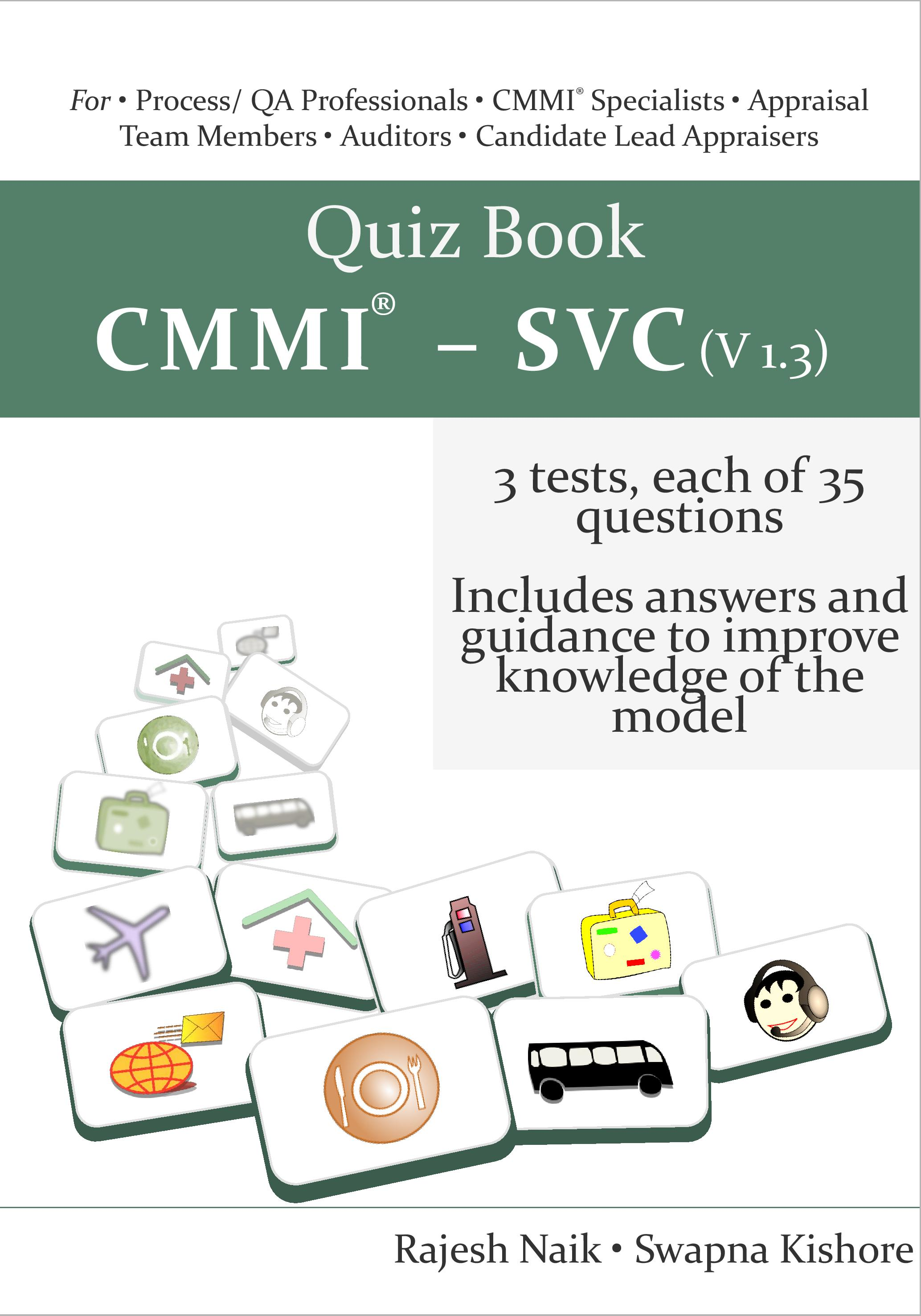 Quiz Book: CMMI® - SVC (v1.3) Book Cover