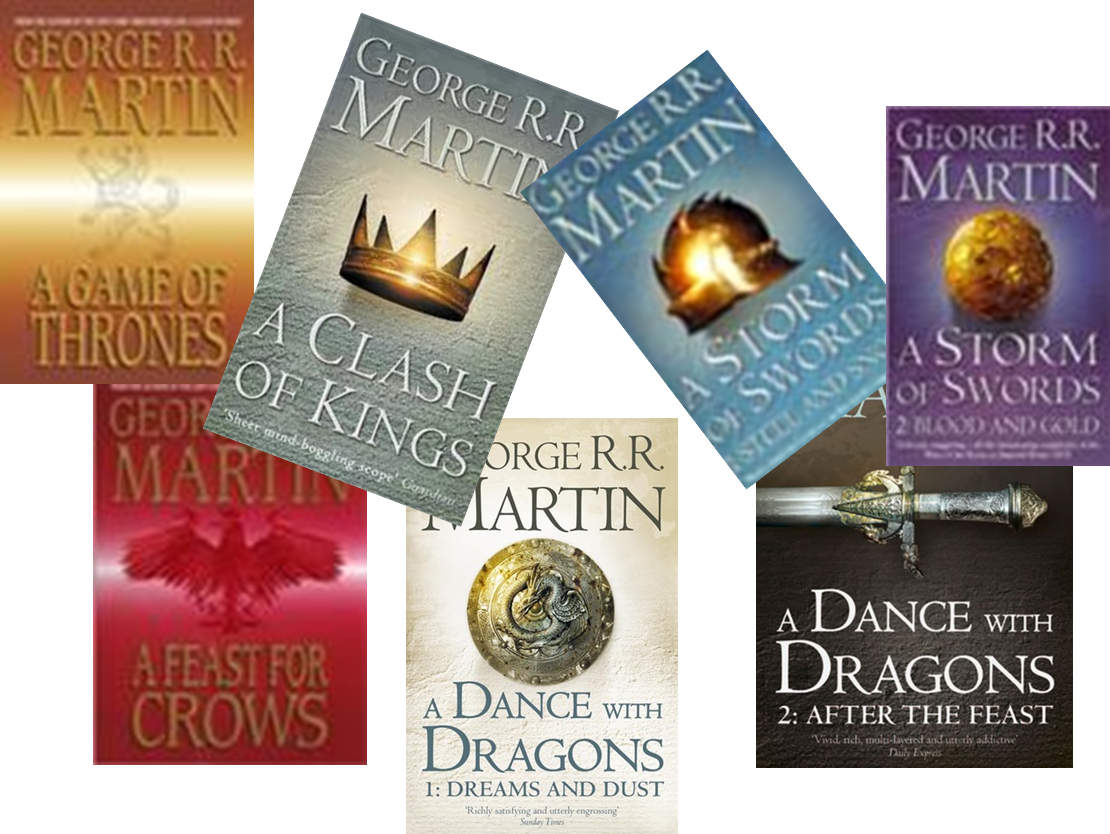 Song of Ice and Fire Series Cover Images