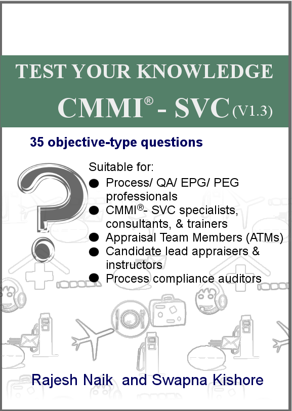 Test Your Knowledge: CMMI® - SVC (v1.3) Book Cover